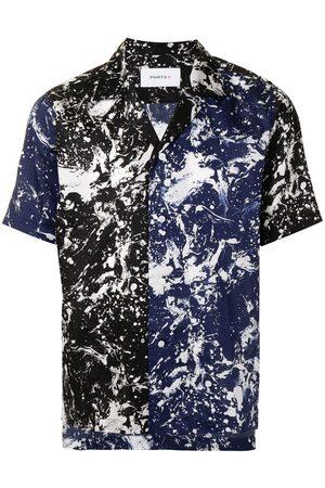 Ports V Camisas - Camisa con estampado marmoleado