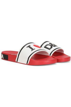 Dolce & Gabbana Mujer Flip flops - Raised logo slides