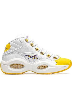 "Reebok Hombre Tenis - Question Mid ""Yellow Toe"