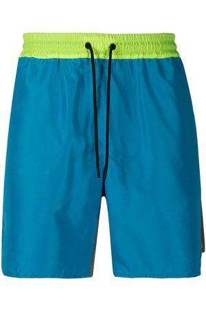 Msgm Hombre Shorts - Shorts deportivos de dos tonos