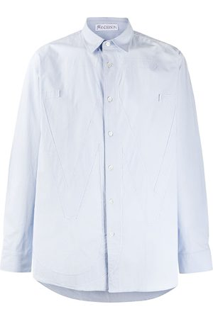 J.W.Anderson RELAXED ANCHOR APPLIQUE SHIRT