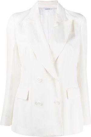 P.a.r.o.s.h. Mujer Sacos - Blazer de vestir con doble botonadura