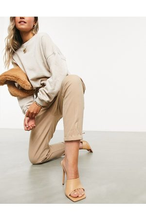 ASOS Chino trousers in stone