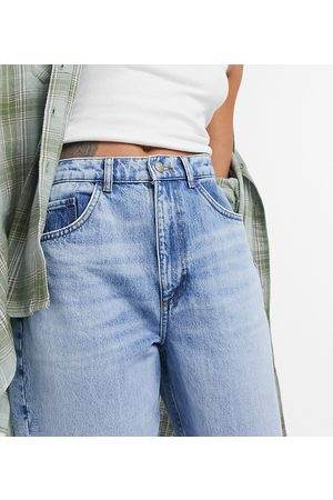 Reclaimed Vintage Inspired 92' relaxed mom jean in pretty bleach responsible wash