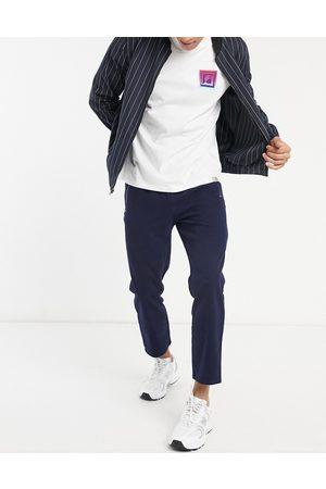 ASOS Slim trousers in navy