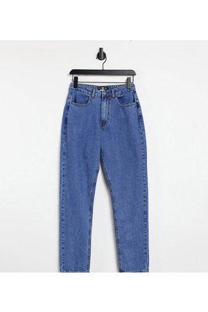 Daisy Street Mom jeans in indigo denim