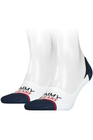 Tommy Hilfiger No Show Mid Cut Footie 2 Pack