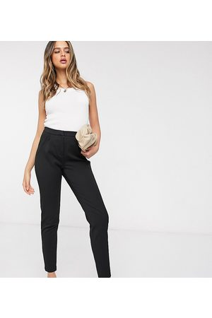 Y.A.S Tailored trouser with elasticated waist in black