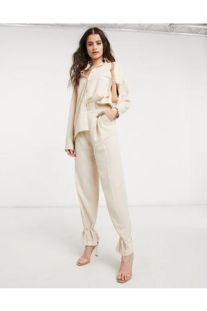Style Cheat Cuffed tailored trouser co