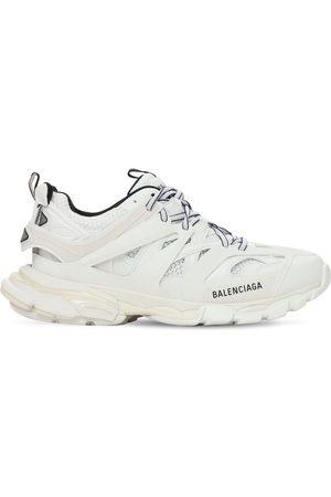 """Balenciaga Sneakers """"track"""" De Piel Sintética Y Malla 50mm"""