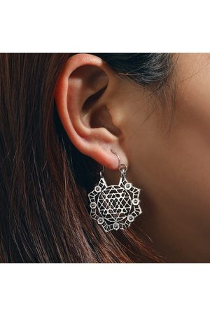 Newchic Mujer Relojes - Bohemian Ethnic Hollow Pendientes Geometry Flower Little Bee Gold Silver Oreja Drop Womens Jewelry