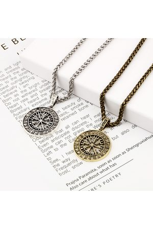 Newchic Hombre Collares - Retro Style Myth Colgante Necklace Alloy vendimia Necklace Secret Letter Necklace