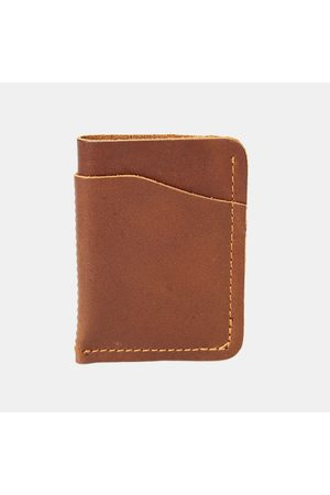 Newchic Men Casual Genuine Leather Short Wallet