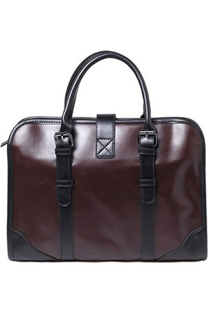 Newchic Hombre Tablets y laptops - Faux Leather Brown vendimia Business Bolsa Laptop Bolsa Maletín para hombre