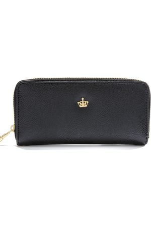 Newchic Moda Mujer Crown Zipper Monedero Largo