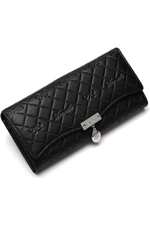 Newchic Mujer Handy Classical Leather Button Long Wallet