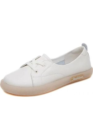 Newchic Mujer Microfibra transpirable Soft Suela Wide Fit Flats