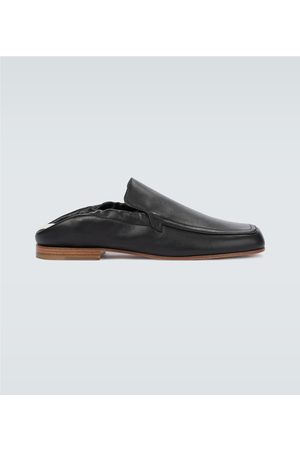 Loewe Hombre Mocasines - Pull tab leather loafers
