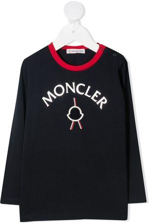 Moncler Playeras - Playera con logo estampado