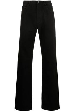 Kenzo Vaqueros rectos con diseño de cinco bolsillos