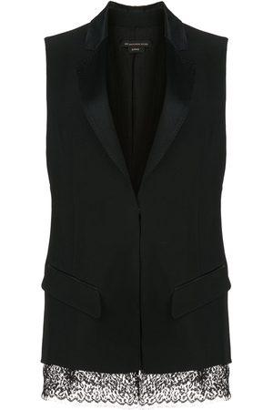 Kiki de Montparnasse Mujer Sacos - Saco de esmoquin sin mangas