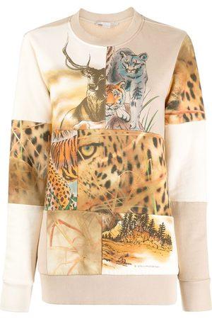Stella McCartney Mujer Sudaderas - Sudadera con animales estampados