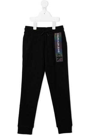 Calvin Klein Joggers con logo tornasolado