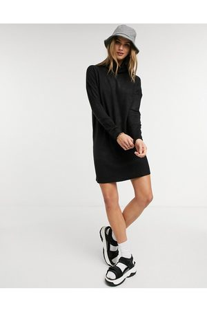 Only Long sleeve roll neck jumper dress
