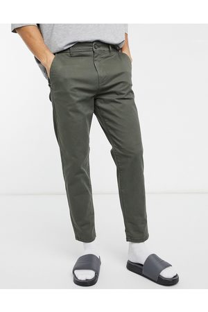 Burton Tapered chinos in khaki