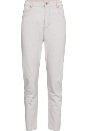 Isabel Marant Lanea high-rise straight jeans