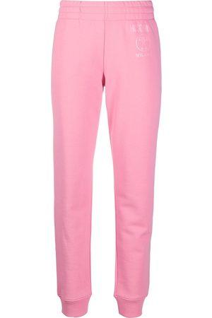 Moschino Mujer Pantalones y Leggings - Pantalones de chándal con logo