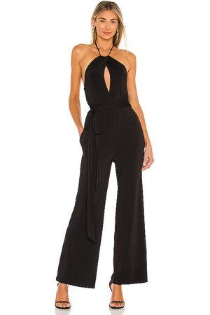 MAJORELLE Gianna jumpsuit en color talla L en - Black. Talla L (también en M, S, XL, XS, XXS).