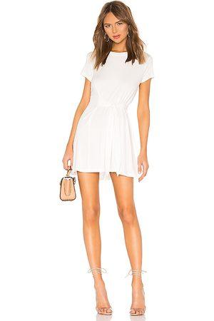 L'Academie Vestido cassidy en color blanco talla L en - White. Talla L (también en M, S, XL, XS).