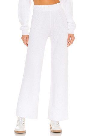 Adam Selman Sport Pantalón en color talla M en - White. Talla M (también en S, XS).