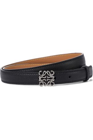 Loewe Mujer Cinturones - Anagram leather belt