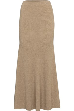 Nanushka Alina wool-blend midi skirt