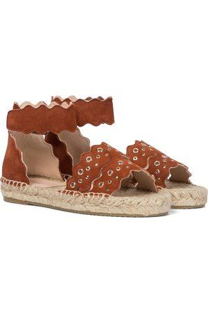 Chloé Niña Alpargatas - Lauren suede espadrille sandals
