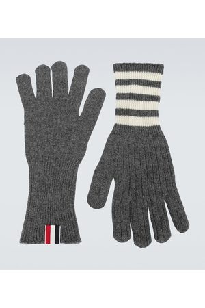 Thom Browne Hombre Guantes - Cashmere gloves