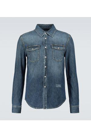 Givenchy Hombre Casuales - Denim shirt