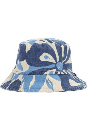 Il gufo Niño Sombreros - Printed cotton and linen bucket hat