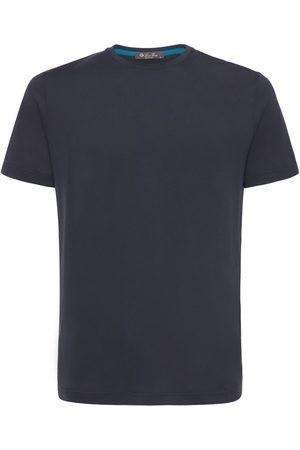 Loro Piana Camiseta De Jersey Y Seda