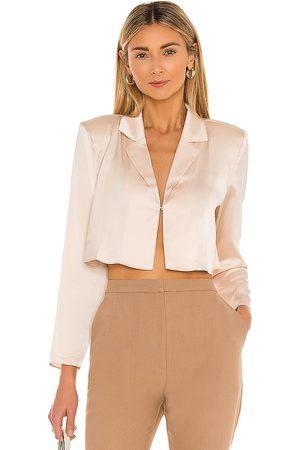 L'Academie Mujer Blusas - Blusa leona en color talla L en - Blush. Talla L (también en M, S, XL, XS).