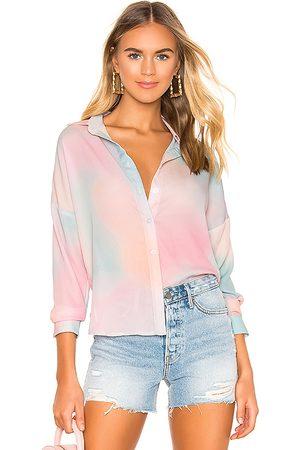 superdown Mujer Camisas - Camisa abotonada miranda en color rosado talla L en - Pink. Talla L (también en M, S, XL, XS, XXS).