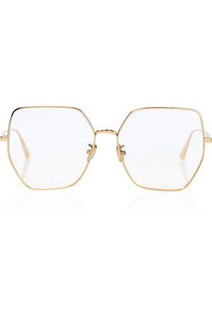 Dior GemDiorO S2U oversized glasses