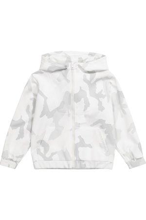 Dolce & Gabbana Camo cotton jersey track jacket