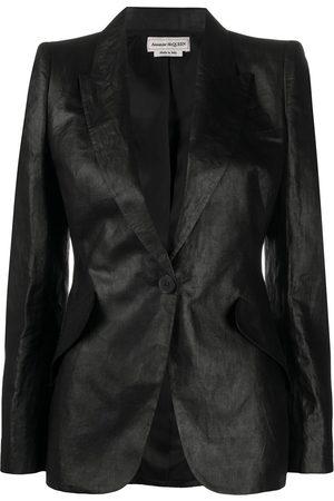Alexander McQueen Mujer Sacos - Blazer ajustado