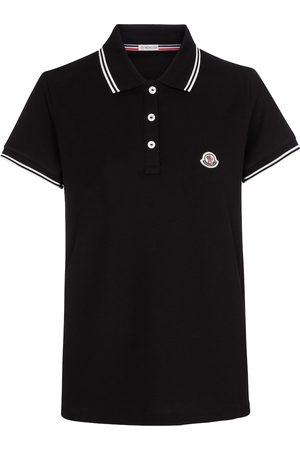 Moncler Mujer Polos - Cotton piqué polo shirt
