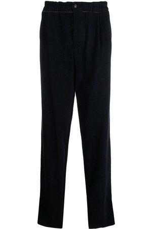 Armani Hombre Anchos y de harem - Pantalones anchos con cintura paperbag