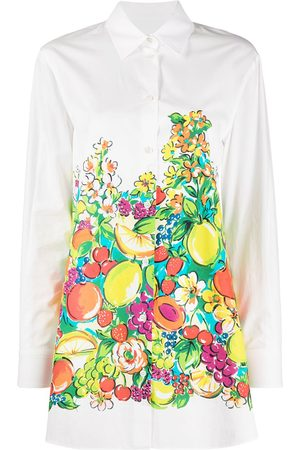 Moschino Camisa con frutas estampadas