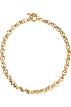 Tilly Sveaas Mujer Collares - Small Double Link 18kt gold-plated necklace